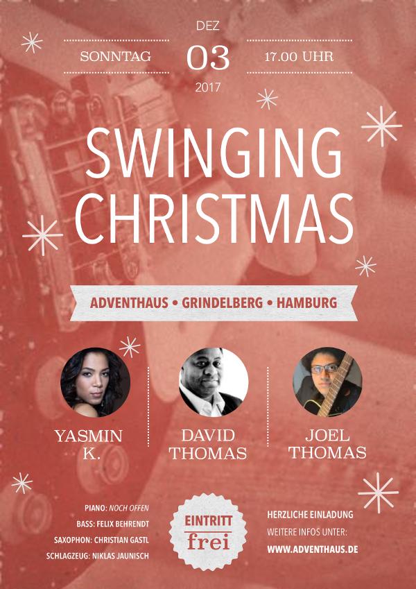 So. 03.12.2017 um 17 Uhr – Swinging Christmas