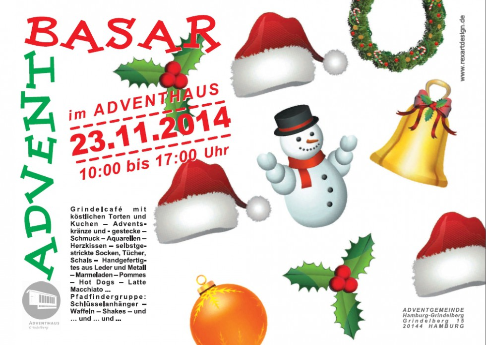 Advent-Basar am 23.11.2014