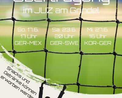 WM Deutschland-Spiele im JUZ