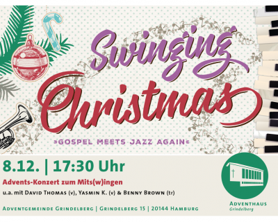 Sa. 8.12.2018 17:30 Swinging Christmas