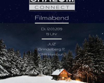SHALOMconnect 12.3.2019 Filmabend