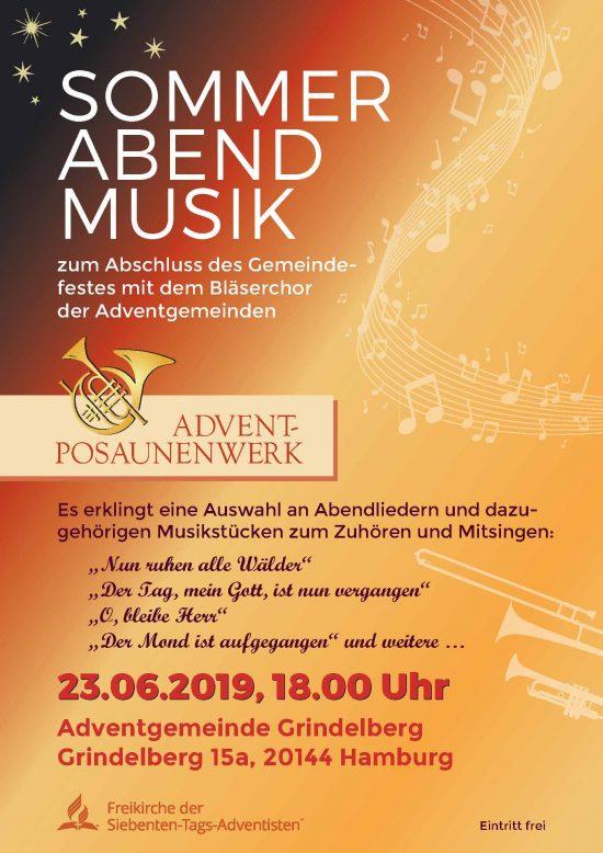SommerAbendMusik – Bläserkonzert