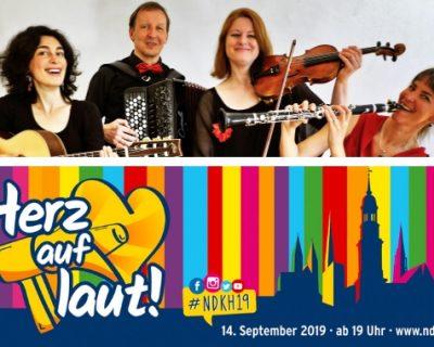 14.09.19 | NACHT DER KIRCHEN Klezmer-Konzert am Grindel