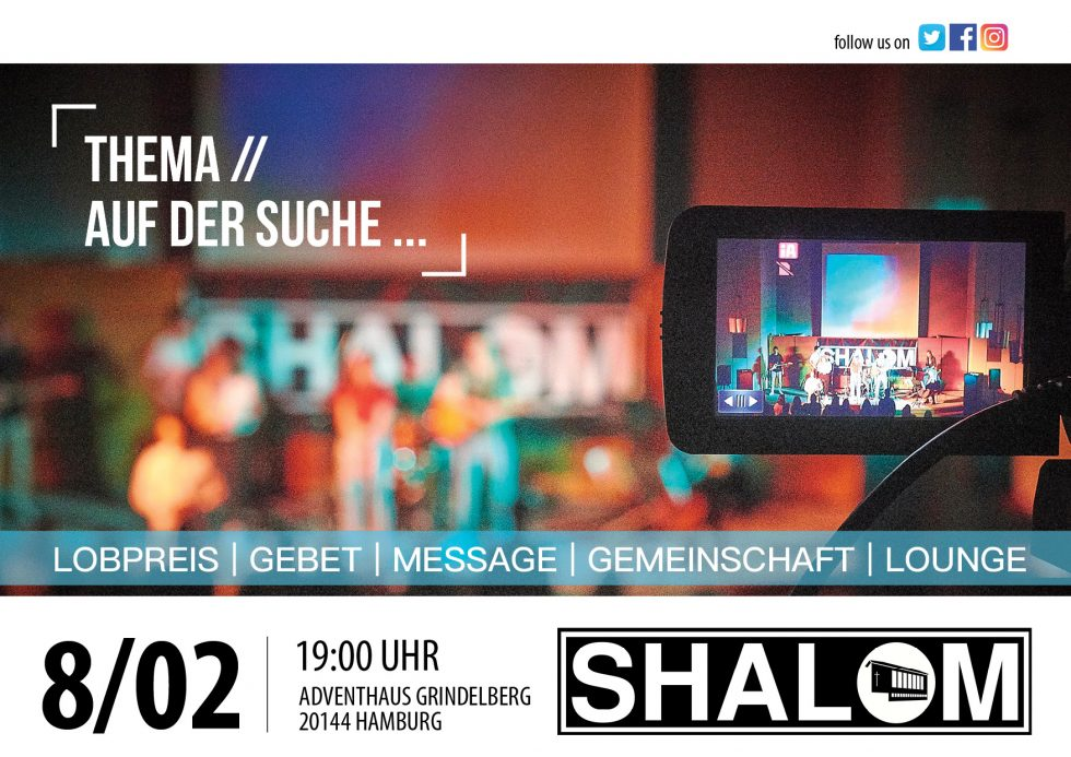 8.02.2020 SHALOMworship