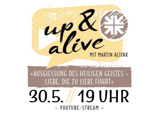 up&alive feat. SHALOMworhsip 30.05.2020
