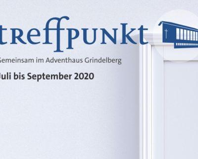 Gemeindebroschüre: Treffpunkt Juli – September