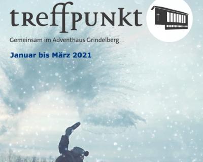 Gemeindebroschüre: Treffpunkt Jan.-März