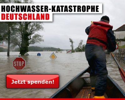 Hochwassergebiete Spendenmöglichkeit