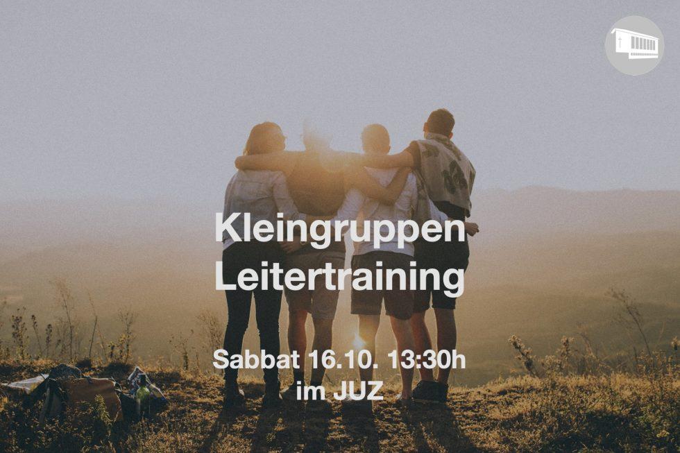 Kleingruppen Leitertraining
